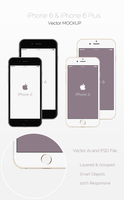 Freebie - Vector iPhone 6 Mockup by GraphBerry