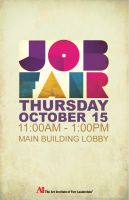AiFL Job Fair Poster by BlissInMyCoffee