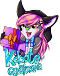 Commission Kobato Birthday Badge by Contugeo