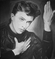 David Bowie by lloxi