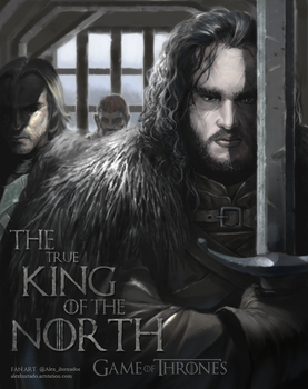 Jon snow final01 by Jan-ilu