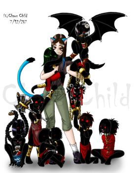 My Babies 2 by Chaos--Child