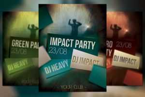 Impact Party Free Flyer by mkrukowski