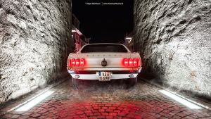1969 Mustang Rear by AmericanMuscle