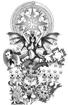 Francis Tattoos Right PNG by The-Brade