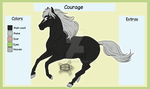 Avatar character ref - Courage by Aspi-Galou