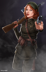 The Soviet Howling Commando by Vylla