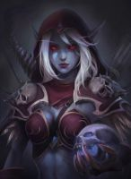 Sylvanas Windrunner by SOLO-VEY