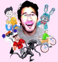 Markiplier 2014 Highlights T-shirt design by Shuploc