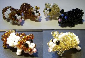 Beaded Guineapigs by Siobhan68