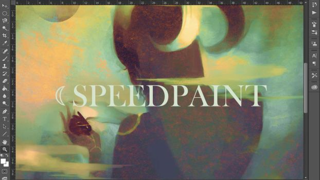 Speed paint - a life wasted by humanealien