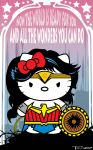Wonder Kitty by Tom Kelly by TomKellyART