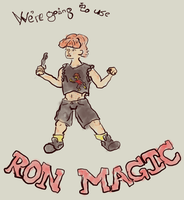 Ron's Ron shirt was just as bad as him by KatrinaTheLamia