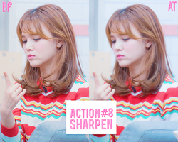 Action Sharpen #8 by BHottest