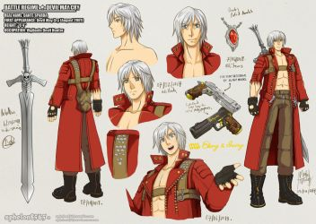 Battle Rehime | Dante Sparda by sphelon8565
