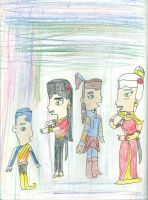Akiko ask the Avatar who they are? by Kelseyalicia