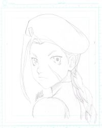 SDCC headsketch - Cammy by theCHAMBA