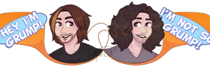 . And We're The Game Grumps! by mini-bit