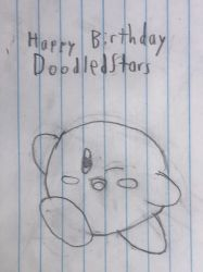 Happy Birthday DoodledStars by Willy276