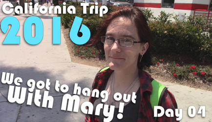We got to hang out with MARY! Day 04 Calitrip by Vendus