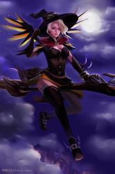 Witch Mercy by Morigalaxy