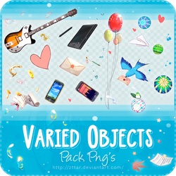 Pack Png's #1 Varied Objects by ZttaR