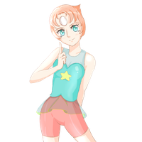 Pearl (Stiven Universe) by 0les-x