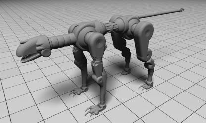 Bot Creature #1: The Quadrupred by Harris2300