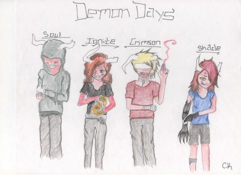 Demon Days by Cooky-Knight