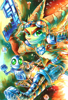 Ratchet and Clank '16 by Strixic