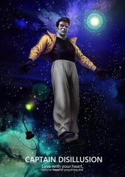 Captain Disillusion Fanart by LucianoC