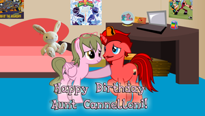 Happy Birthday, Aunt Cannelloni by JasperPie