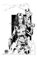 The Baroness Inks by devgear