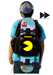 Pacman Guy by ClarionDenell