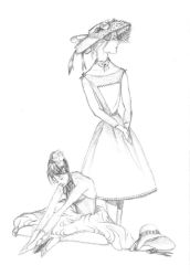Fancy Dressed Girls by The-Whippet