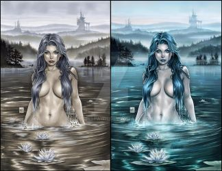 Lady of the Lake by Kromespawn