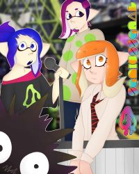 squid squad by Colorless-Wonder