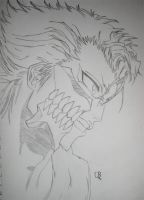 Grimmjow Jaggerjack by KonTheHeartless