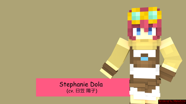 Stephanie Dola (Minecraft Skin) by alysho10