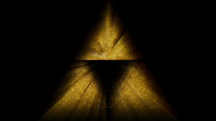 The Legend of Zelda - Triforce blurred by Time by DiggerEl7