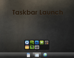 Taskbar Launch by NomNuggetNom