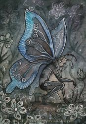 ACEO: Polymmatus Icarus by Si3art