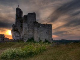 castle by szymonomyzs