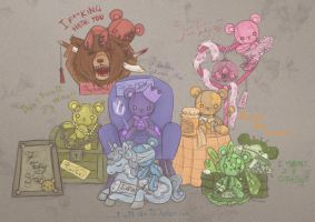 Seven Teddy Sins by nottisweettoothi