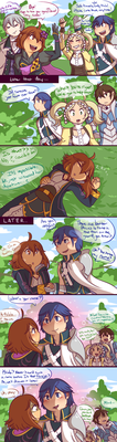 FE- Another Meeting by Kilala04