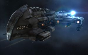 Harbinger Battlecruiser by CapnAhab