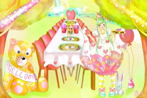 Welcome to the tea party by DanPopu