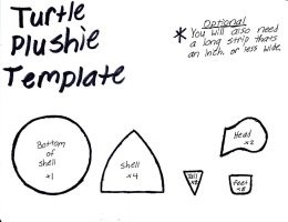 Turtle Plushie Template by GrnMarco