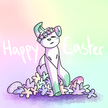 Happy easter! by KPrincess527