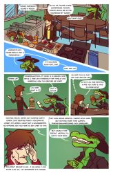 Death Valet Chapter One Page Eleven by A-Fox-Of-Fiction